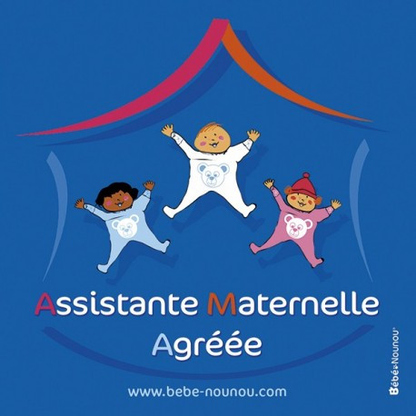 "Sticker ""Assistante Maternelle"""