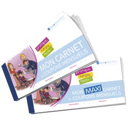 Carnet de Coupons Mensuels