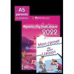Agenda des Boutchoux 2022 et le nouveau Carnet de Liaison