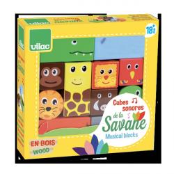 Cubes sonores de la Savane
