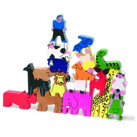 Puzzle 3D Animaux