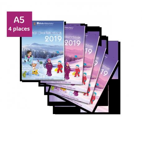 Pack Agendas 2019 - 4 enfants