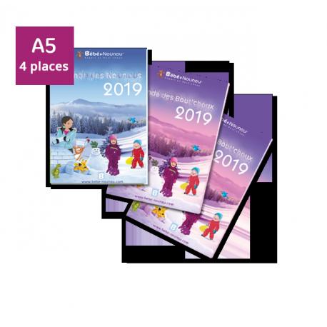 Pack Agendas 2019 - 2 enfants