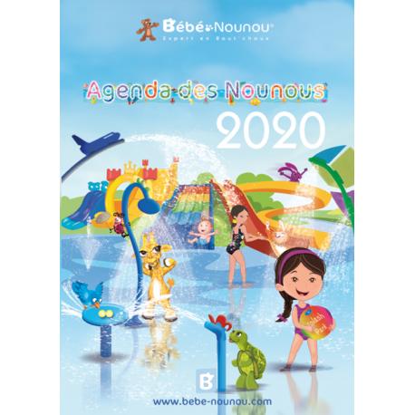 Agenda des Nounous 2020 A4 avec rabat (6 enfants)