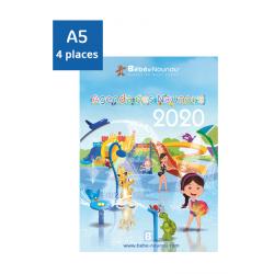 Agenda des Nounous 2020 A5 (4 enfants)