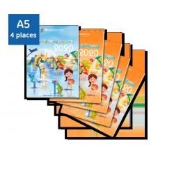 Pack Agendas 2020 - 4 enfants