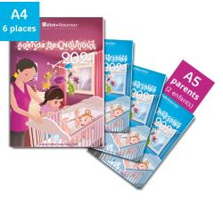 Pack Agendas 2021 - 3 enfants