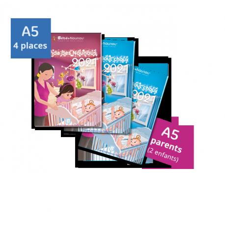 Pack Agendas 2021 - 2 enfants