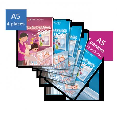 Pack Agendas 2021 - 4 enfants